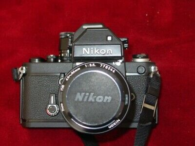 NIKON F2 TITANIUM SLR Film Camera Photomic S DP-2 Prism Zoom Nikkor 46-86mm  Lens