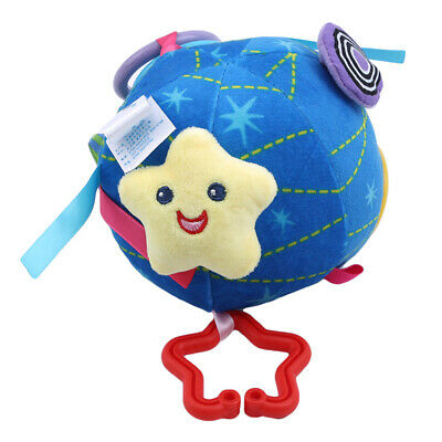 Newborn Baby Cute Ball Doll Bed Hanging Plush Rattle Stroller Hanging Toy CB