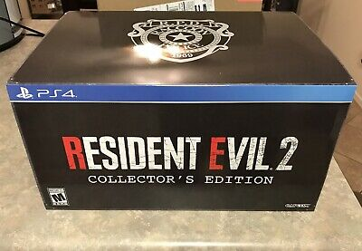 Resident Evil 2 Remake Collectors Edition PS4 (Statue And Artbook NOT INCLUDED)