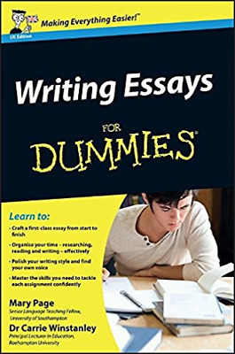 Writing Essays for Dummies (UK IMPORT) BOOK NEW
