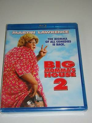 B4 Blu-Ray BIG MOMMA'S HOUSE 2 Martin Lawrence Brand NEW Sealed