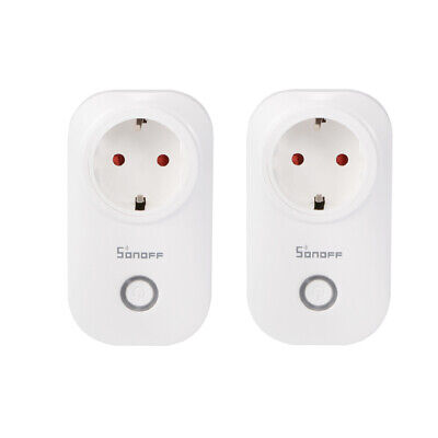 2x Smart APP Switch WIFI Maison Automation Power Socket pour Alexa Google HS1158