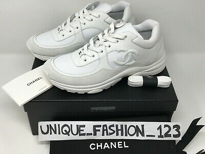 Chanel Women S Trainers Sneakers Cc Runner Us 8 5 Uk 6 39 White