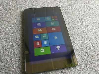 Dell Venue 8 Pro 32GB Tablet Atom Z3740D 1.33GHz 2GB RAM Win 8.1 GREAT CONDITION