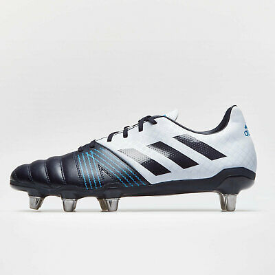 buy online 453ce f588b adidas Mens Kakari Soft Ground Rugby Boots Sports Shoes Studs Black