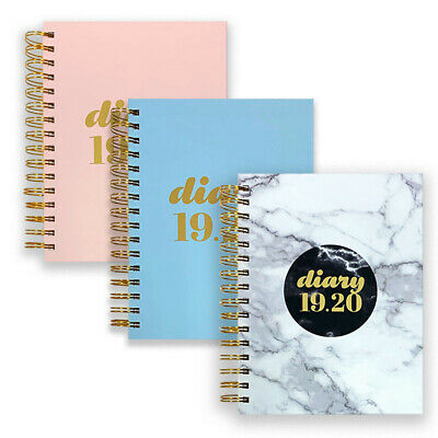 Collins Scandi A5 Day to a Page Academic Mid Year Student Wiro Diary 2019-20