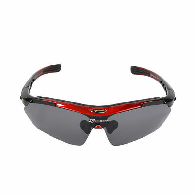 3b8cdaa5a72 RockBros Polarised Cycling Glasses Bicycle Outdoor Sport Sunglasses Goggles  Red