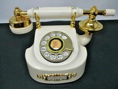 Vintage Western Electric French Provencal Princess Rotary Phone, serial #011309