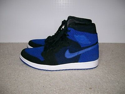 fad20b79cabe SZ 10.5 Nike Air Jordan 1 Hi Flyknit Royal Banned Bred Shadow 919704 006 XI  IV