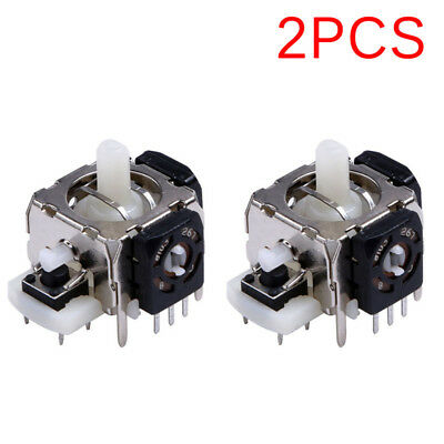 2PCS Replacement 3D Joystick Analog Stick For Xbox 360 Wireless Controller V!