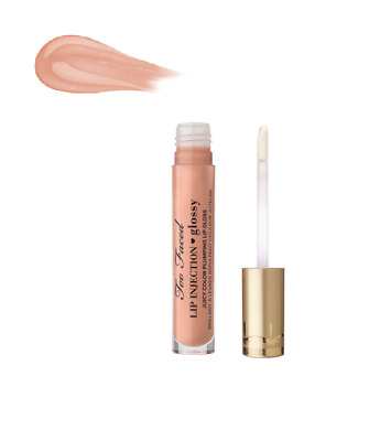 TOO FACED Lip Injection Glossy Juicy Color Plumping Lip Gloss in MILKSHAKE 4ml