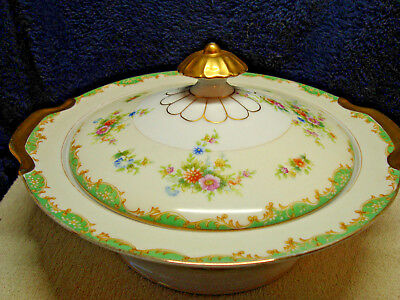 Empress china, Japan covered vegetable dish pattern emp 18.