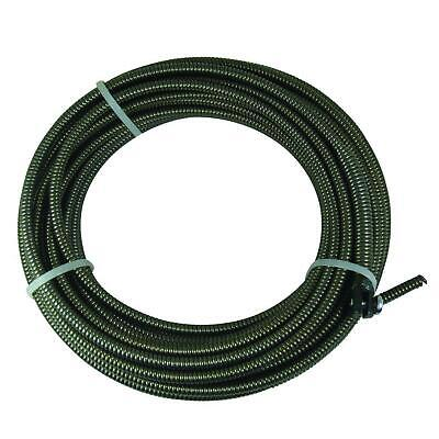 50 ft. Slotted-End Replacement Cable Plumbing Snake Sink Clog Sewer Pipe Cleaner