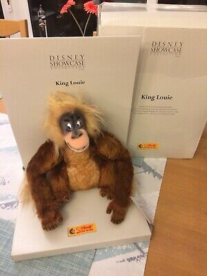 RARE Steiff King Louie Disney Jungle Book LIMITED EDITION 2003 WITH BOX
