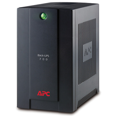 APC BX700U-GR Back-UPS uninterruptible power supply (UPS) 700 VA Line-Interactiv