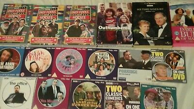 Comedy DVD Joblot Only Fools & Horses Outnumbered As Time Goes By Darling Buds