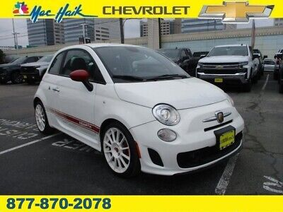 2014 Fiat 500 Abarth 2014 FIAT 500 Abarth 48,085 Miles Bianco (White) Hatchback Intercooled Turbo Pre
