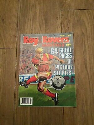 Roy Of The Rovers Monthly April 1992