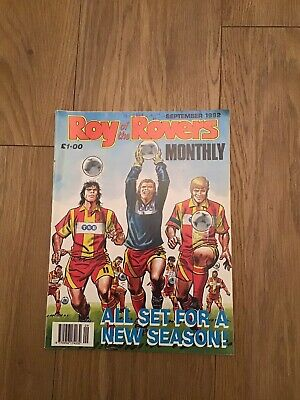 Roy Of The Rovers Monthly September 1992