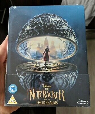 The Nutcracker and the Four Realms - Limited Edition Steelbook (Blu-ray) NEW!!
