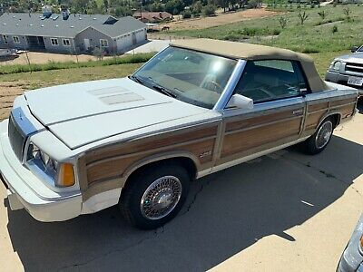 1986 Chrysler Town & Country  1986 Chrysler Town and Country Mark Cross Convertible