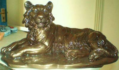 Latex Mould for making this LAYING TIGER