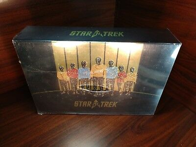 Star Trek:50th Anniversary TV and Movie Collection (Blu-ray Boxset) NEW-Free S&H