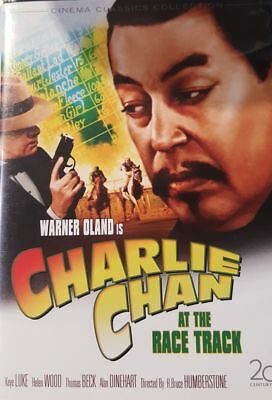 Charlie Chan at the Race Track (DVD) VERY GOOD DISC + COVER ARTWORK - NO CASE