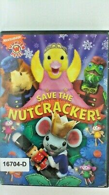 DVD SAVE THE NUTCRACKER-Nickelodeon Wonder Pets in Original Jacket FS. 10