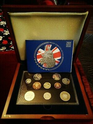 Collectable coins 2004 royal mint  Proof Coin Collection