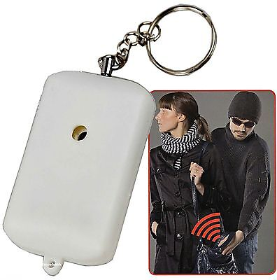 NEW Safety Security Attack  Alarm key ring Small Minder Loud Personal Panic 90db