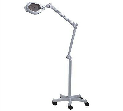 3x 8x Magnifying Light Lamp and Stand 5 Star Base Beauty Brows Eyelash Extension