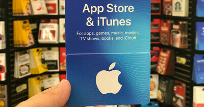 New Apple App Store & iTunes  Gift Card Ships FREAKY FAST! Guaranteed - Sealed