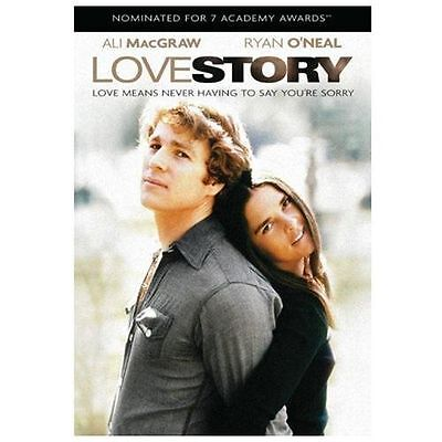 Love Story Dvd Ryan O'neal-Ali Macgraw-Tommy Lee Jones-Ray Milland-John Marley