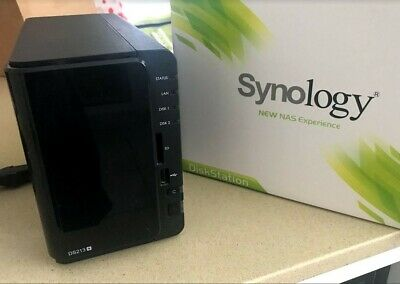 Synology Diskstation DS213+ with 6TB storage