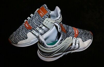 f5a47c5f9 Pre-owned adidas equipment Running support EQT White Black Men s 7 US   6.5  UK
