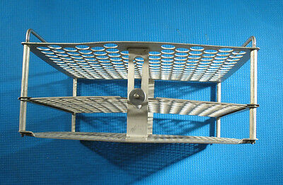 "196 Test Tube Rack autoclave Holder 18mm (.70"") cassette tray sterilization mesh"