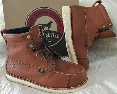 70a75131682 RED WING IRISH Setter WingShooter ST Safety Toe Boots 83632 Mens 9.5 ...