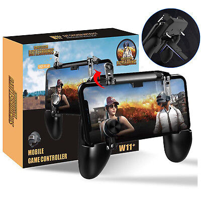 PUBG Mobile Wireless W11+ Gamepad Remote Controller Joystick for i Phone Android