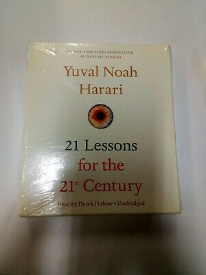 21 Lessons for the 21st Century [Audio] by Yuval Noah Harari.