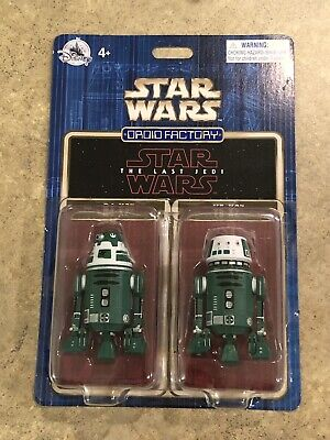 Disney Parks Star Wars The Last Jedi Droid Factory R4-X2 & Y5-X2 *Parks Xclusive