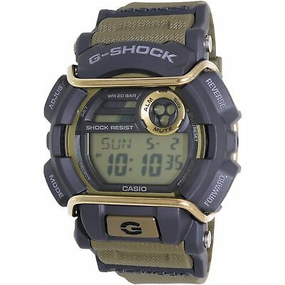 Casio G-Shock Men's Green Rubber Quartz Sport Watch  GD400-9