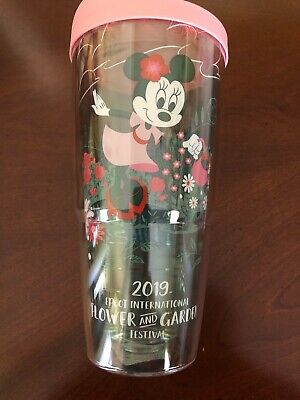Disney Epcot 2019 Flower And Garden Minnie Tervis Tumbler 24 oz New