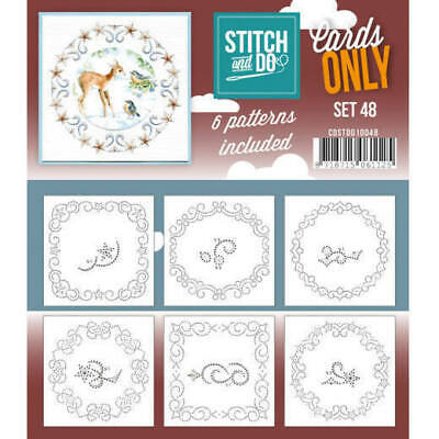 Stitch and Do Card Stitching Cardlayers Only - Set 48