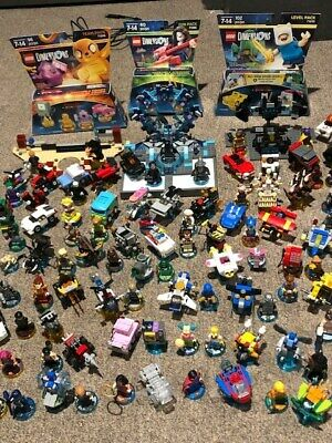 HUGE LEGO Dimensions Lot X-Box One Starter Pack, Story & Level Packs & More!