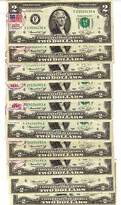 1976 Two Dollar $2 First Day Of Issue Canceled Stamp- Buying One Note
