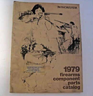 VINTAGE WINCHESTER COMPONENT Parts 1950 Catalog 1st edition