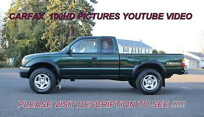 2002 Toyota Tacoma SR5 96-2004 2002 Toyota Tacoma PreRunner EXT Cab SR5 2.7l Service records Low Miles