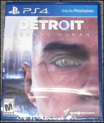 Detroit: Become Human - Sony PlayStation 4 - PS4 - Brand New and Sealed