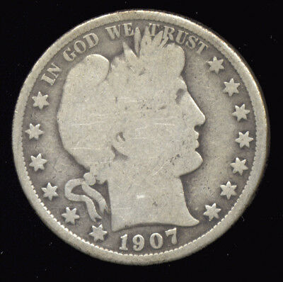 1907-O ...  Better Date  ...  Barber Half Silver (305-311*)  FREE SHIPPING